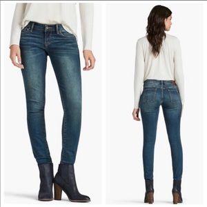 Lucky Brand Lolita Skinny Jeans Medium Wash